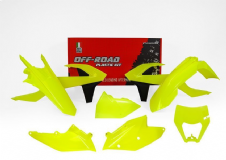 Plastic Kit Flo Yellow Headlight Cowl KTM EXC EXC-F 125 250 350 450 500 17 18